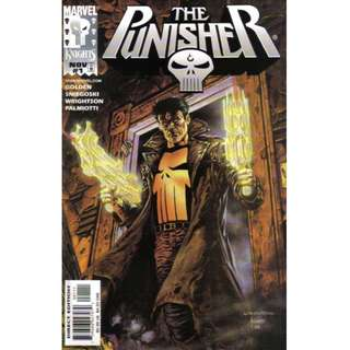 THE PUNISHER #1-4 (1998) Marvel Knights  Mini-series complete