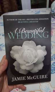 FICTION BOOK A Beautiful Wedding.