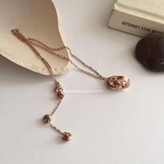 14K Gold Plated Multi-Way Connection Necklace/Bracelet