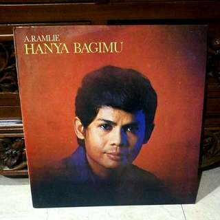 Lp...Vinyl.. A.Ramlie - Hanya Bagimu