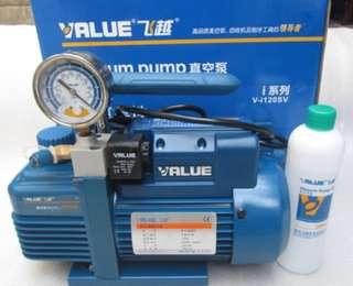專業VALUE1升冷氣真空泵(男人手作)