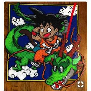 Dragon Ballz Hama designs