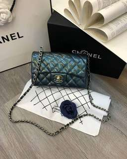 Chanel Pattern Emerlad Green Mini & Small (Perfect & Premium)