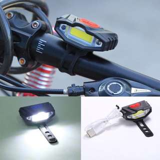 USB Rechargeable Bicycle LED Light