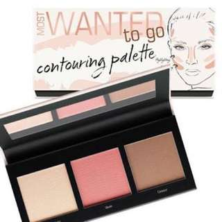 Art Deco Most Wanted Contouring Palette To Go