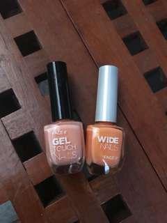 Face shop orange nail polish