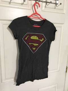 Weathers superman t-shirt