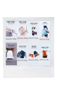 SALE!!! Drawstring bags up to 60% Oxx