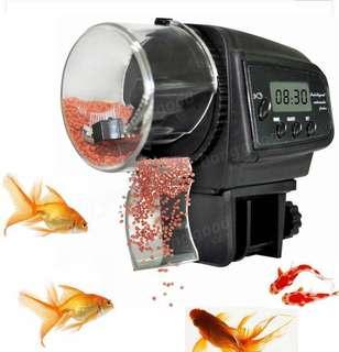Fish Auto Feeder Machine - 3 Types