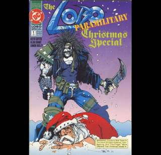 LOBO: THE PARAMILITARY CHRISTMAS SPECIAL #1 (1991) One-shot