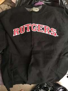 Rutgers size large sweatshirt- unisex