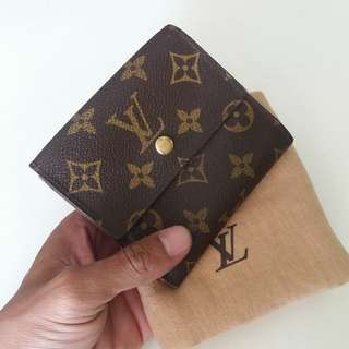 AUTHENTIC LOUIS VUITTON MONOGRAM WALLET MADE IN FRANCE GOOD CONDITION RM590 C.O.D USNASAPRELOVED http://www.wasap.my/60104550163