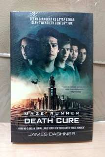 Novel Maze Runner: The Death Cure karya James Dashner