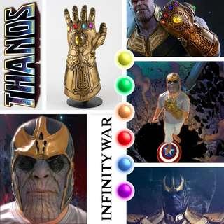 Thanos Infinity war Infity Gauntlet costume