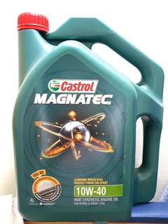 [FREE Oil Filter] + Castrol Magnatec Engine Oil 10W40