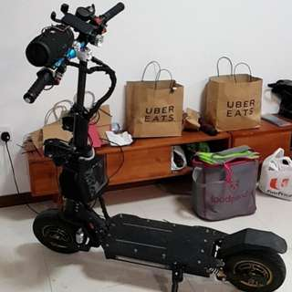 Ultron ultra 60V 2400Watt 21Ah Two motor with , eco or turbo mode. Single or double motor mode. MAX LOAD 2 PERSON TOTAL 160KG
