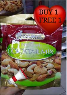 BUY 1 FREE 1 -Camel coctail mix peanuts
