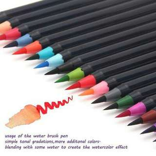 FREE WATER BRUSH Watercolor pens for Calligraphy and painting