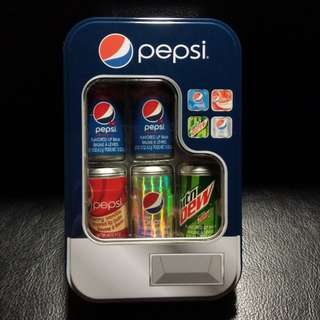 Pepsi Can Lip Balms Set - a collector's item