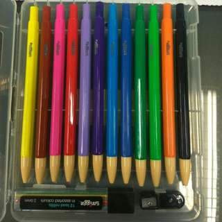 Smiggle Coloring Pencil