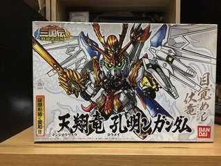 天翔龍 孔明 高達 三國傳 BB戰士 港版說明書 初回 Nu Gundam