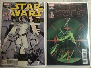 STAR WARS Comic Volume 2 #16: Rebel Jail; AND #6 Skywalker Strikes