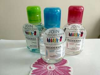 Bioderma 100ml make up remover and cleanser