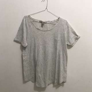 T Shirt Forever21 grey