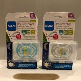 MAM Perfect Night Baby Pacifier (16+ Months)
