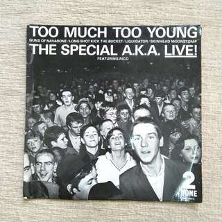 "7"": The Specials AKA - Too Much Too Young Live EP Vinyl Record"