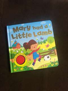 Mary had a little lamb music