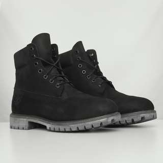 Timberland Black Boot Size US 12/12.5 Mens