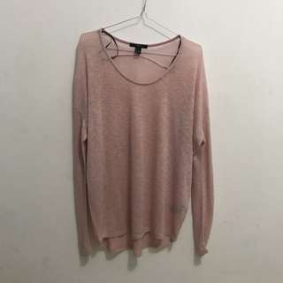 Sweater pink Forever21