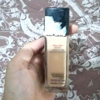 foundie maybelline new look dewy smooth