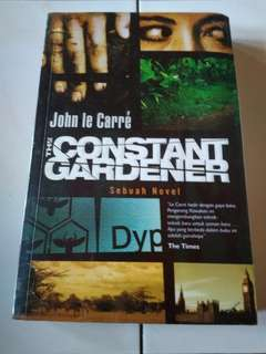 Buku/Novel The Constant Gardener by John le Carre