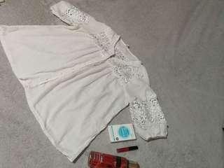 Summer white top