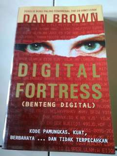 Buku/Novel Digital Fortress by Dan Brown