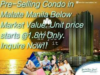 Best Offer Condo in Malate Manila Near Makati