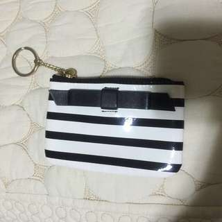 Kate Spade Key Pouch/key Holder/bow/coin Pouch/card Holder