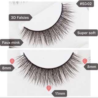 Fake/False Eyelashes Mega Sale — FREE MAILING for all lashes! While stock lasts!