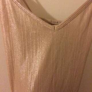 Sparkly nude bodysuit