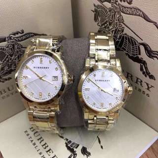 BURBERRY COUPLES WATCH