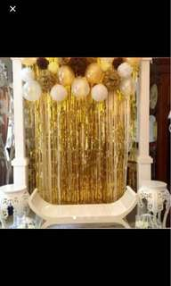 party curtain backdrop decoration party decoration