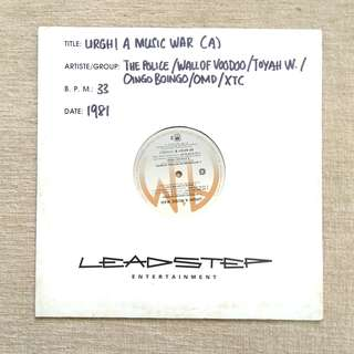 LP: Urgh! A Music War V/A Compilation Album Vinyl Record