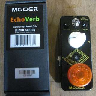 Mooer echoverb brand new