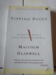 Buku Tipping Point by Malcolm Gladwell