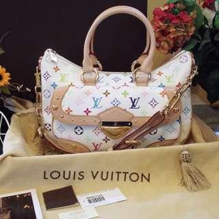 Louis Vuitton Rita White Multicolor Monogram LV