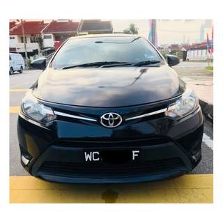 TOYOTA VIOS J SPEC 2015 CONTINUE LOAN