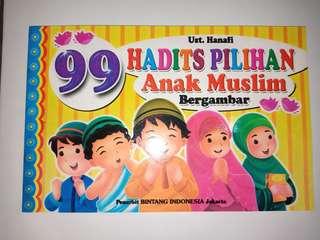 99 hadist pilihanul untuk anak muslim