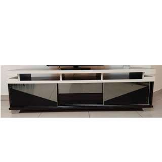 Wooden Glass TV Cabinet